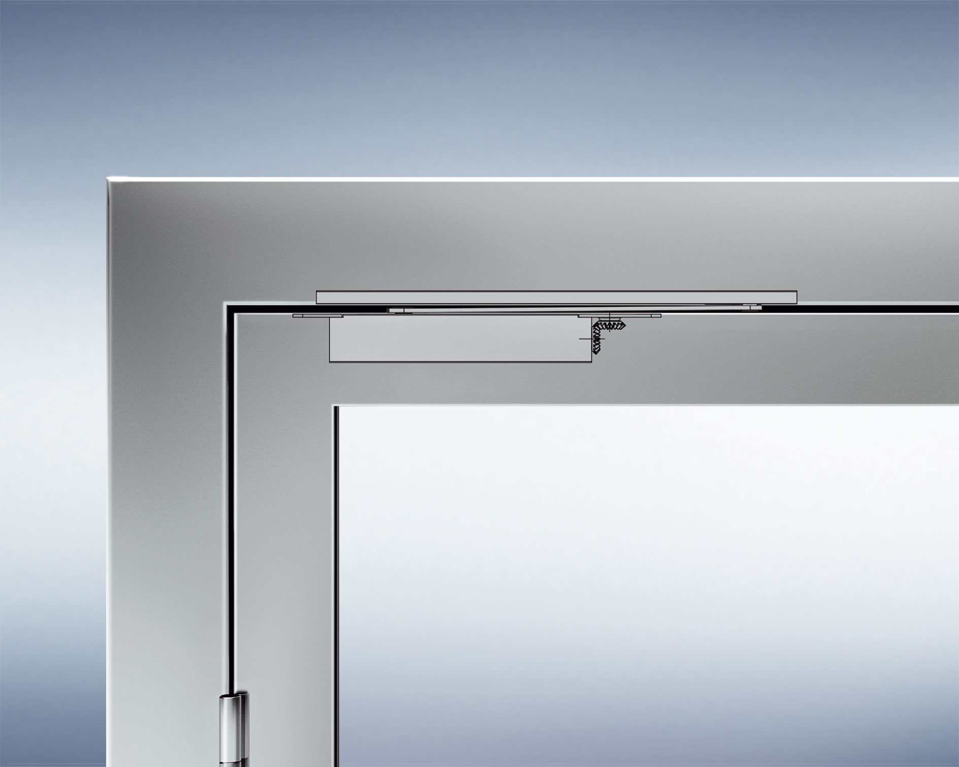 Concealed door closer & Concealed door closer - Door closer - Door technology - GRETSCH-UNITAS